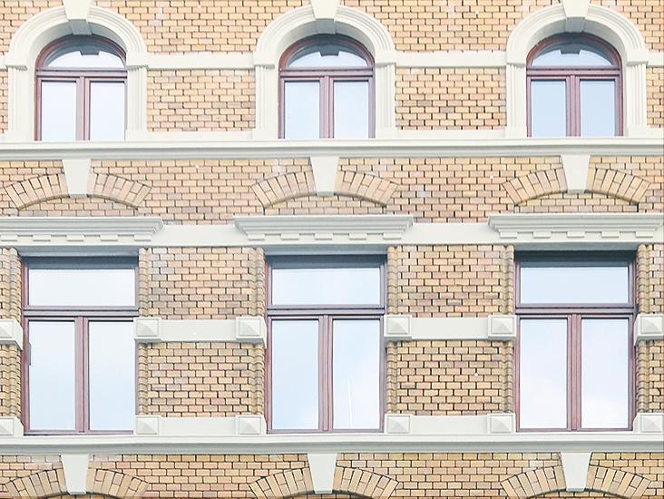 Dreikönigenstrasse, Fassade