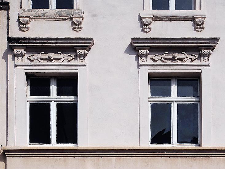 Zonserstrasse, Fassade
