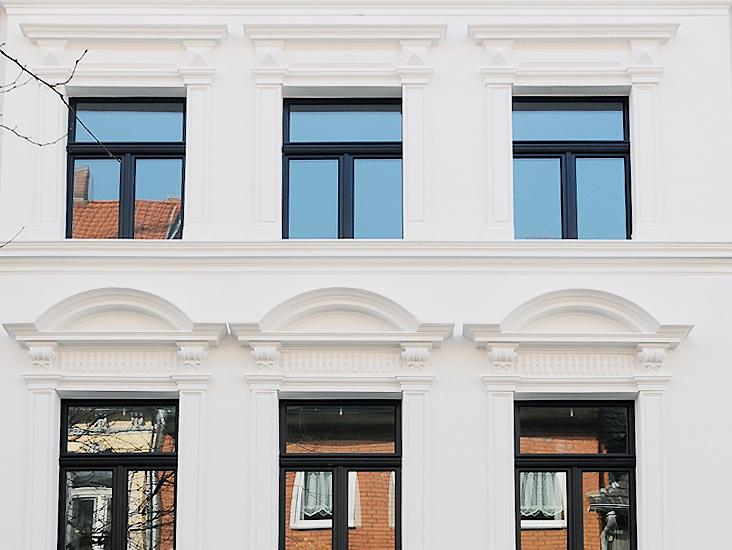 Thüringerstrasse, Fassade