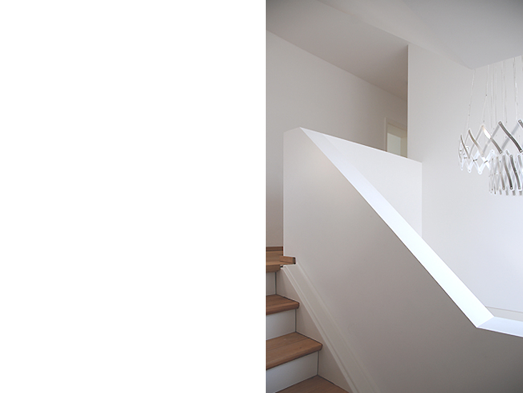 Silberahornweg, Treppe