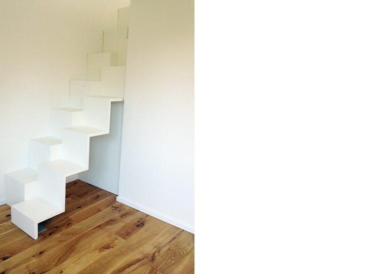Lohrbergstrasse Treppenprofil